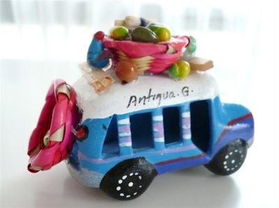 画像3: グアテマラ☆バス《ブルー》小