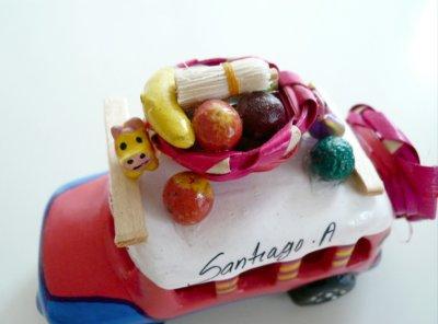 画像2: グアテマラ☆バス《ピンク×ブルー》大