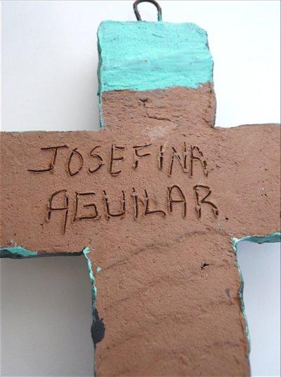 画像3: アギラール・ファミリー十字架☆緑《大》