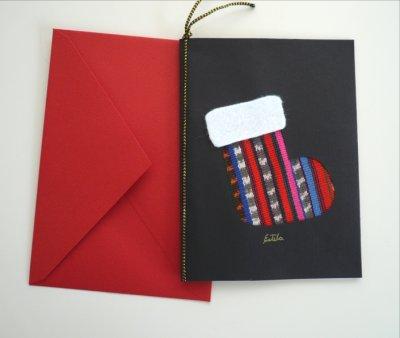 画像1: グアグアタルヘタ〜クリスマスカード 黒